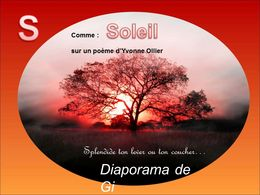 diaporama pps S comme soleil