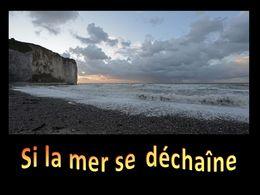 diaporama pps Si la mer se déchaîne