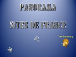 diaporama pps Sites de France