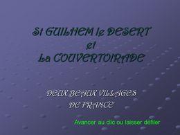 diaporama pps St Guilhem le Désert – La Couvertoirade