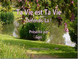 diaporama pps Ta vie est ta vie