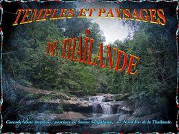diaporama pps Temples et paysages de Thaïlande