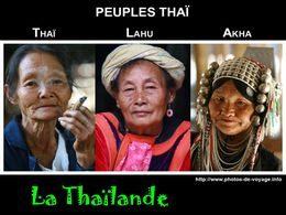diaporama pps Peuple Thaï – La Thaïlande