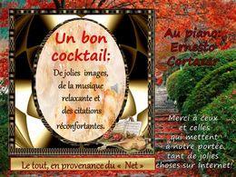 diaporama pps Un bon cocktail