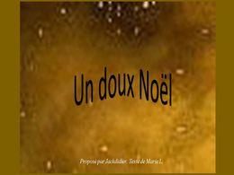 diaporama pps Un doux Noël