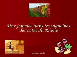 diaporama pps Vignobles des Côtes du Rhônes