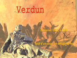 diaporama pps Verdun