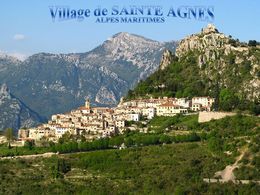 diaporama pps Village de Sainte-Agnès Alpes-Maritimes