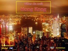 diaporama pps Villes de nuit – Hong Kong