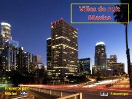 diaporama pps Villes de nuit – Mexico