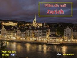 diaporama pps Villes de nuit – Zurich