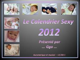Le nouveau calendrier sexy 2012