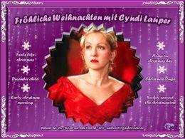 Weihnachten mit Cyndi Lauper