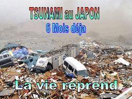 Japon la vie reprend
