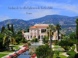 Jardins de la villa Ephrussi de Rothschild