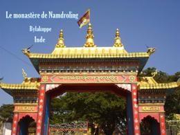 Le monastère de Namdroling Inde