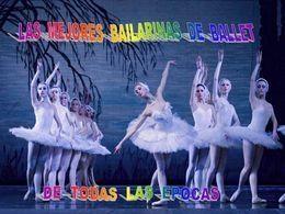 Bailarinas en diaporama