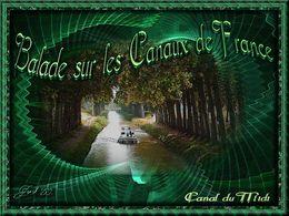 Balade sur les canaux de France