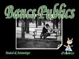 Pps musique: Brassens Les Bancs publics