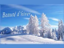 Beauté d'hiver en pps