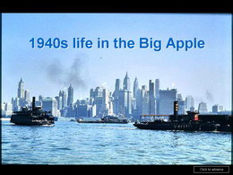 Big Apple in the 1940s