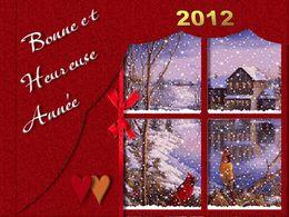 Bonne année 2012 de Monique