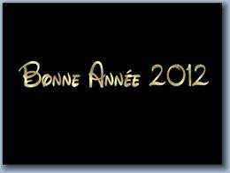 Bonne et heureuse année 2012 en pps
