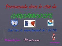 Cité de Carcassonne en diaporama