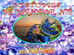 Costumes de carnaval 4 Venise 2