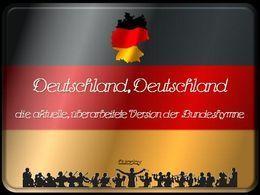 Deutschland hymne neu