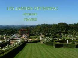 Les jardins d'Eyrignac en Pps