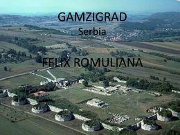 PPS sur Gamzigrad en Serbie
