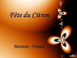 La fête du citron Menton