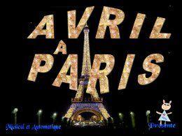 Diaporama: J'aime avril à Paris