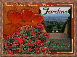 PPS sur les jardins italiens