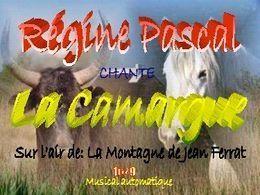 Diaporama: La Camargue 16-9 chantée par Régine Pascal