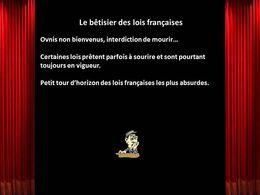 Le bêtisier des lois françaises