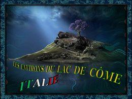 Les environs du lac de Côme en Italie