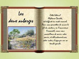 Les lettres de mon moulin: Les deux auberges