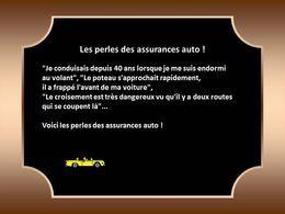 Les perles des assurances auto