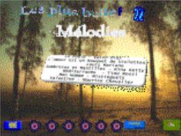 Les plus belles mélodies 22