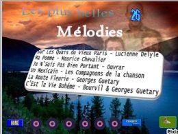 Les plus belles mélodies 25