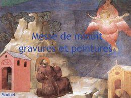 Messe de minuit gravures et peintures