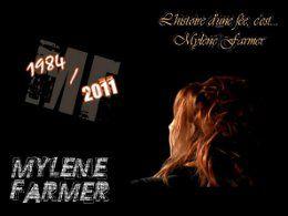 Mylène Farmer 50 ans 27 ans de carrière