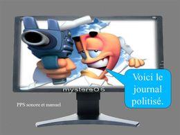 PPS humour politique: Journal télévisé