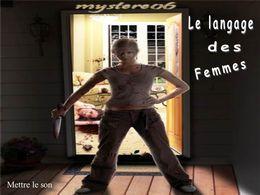 PPS Humour: Langage des femmes