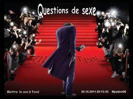 Questions de sexe en diaporama humour