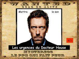PPS humour politique Urgences d'House