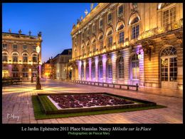 Le jardin éphémère 2011: Place Stanislas à Nancy
