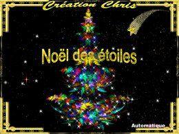 Diaporama Noël des étoiles